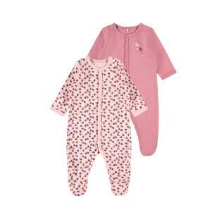 Juego de 2 pijamas para bebés Name it