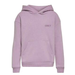 Sudadera chica Only kids konevery life