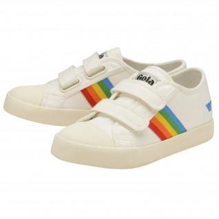 Entrenadores para niños Gola Coaster Rainbow Velcro