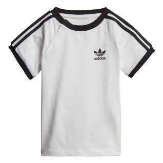 Camiseta de bebé adidas 3-Stripes Trefoil