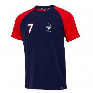 Camiseta fff jugador griezmann n°7