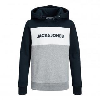 Sudadera para niños Jack & Jones JJelogo blocking