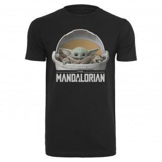 Camiseta Urban Classics baby yoda mandalorian logo