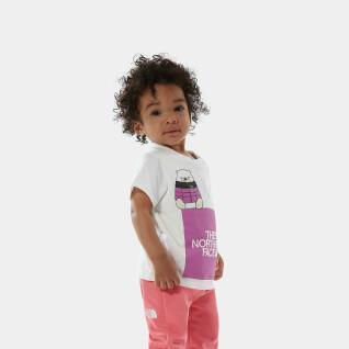 Camiseta de bebé The North Face Easy
