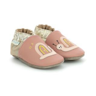 Zapatillas de bebé Robeez  Spicy Hearts